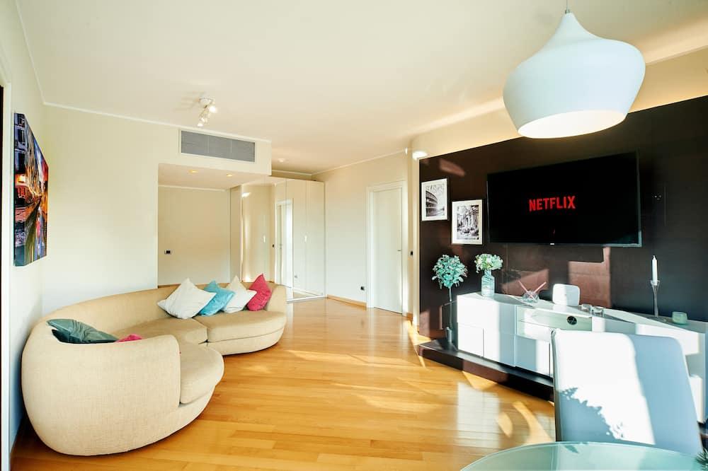 舒適公寓, 陽台 - 客廳