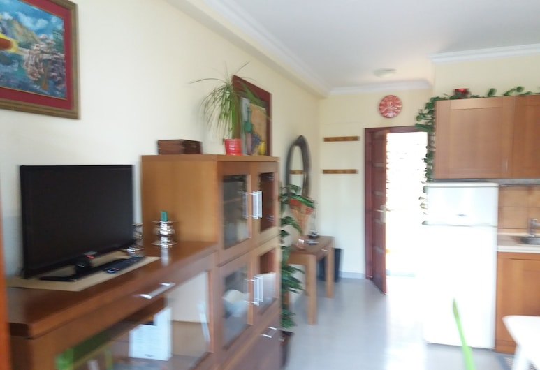 Beautiful studio well located and in a very central and quiet area, Puerto de la Cruz, Living Room