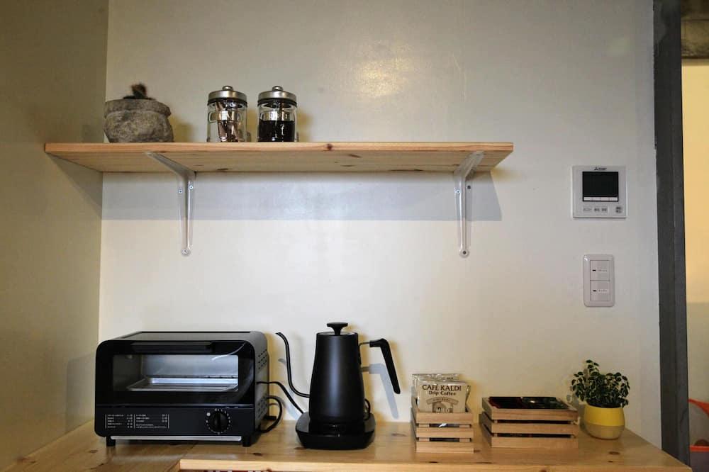 Zweibettzimmer - Gemeinschaftlich genutzte Küchenausstattung