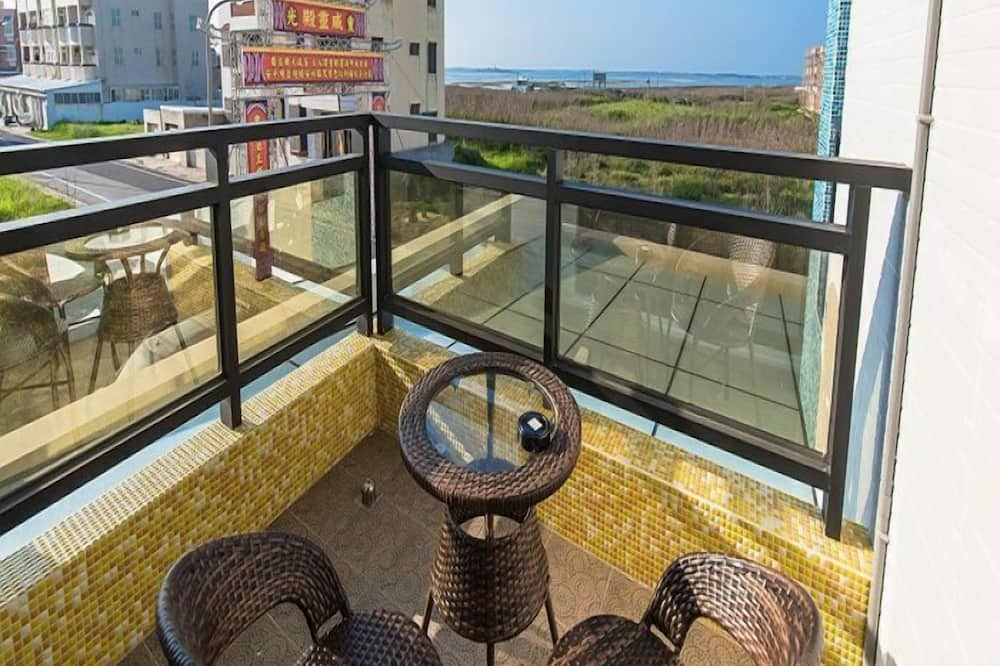 Camera quadrupla, vasca da bagno, vista oceano - Vista balcone