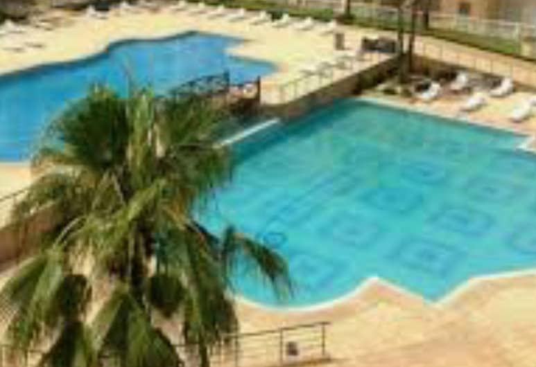 Apartment With 2 Bedrooms in Mohammedia, With Shared Pool, Enclosed Garden and Wifi, El Mansouria, Pool