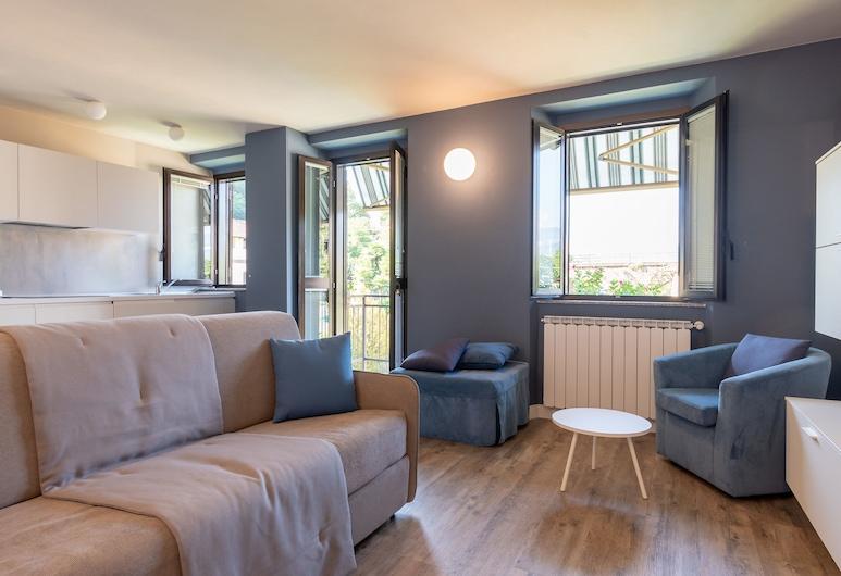Residenza Ortensia, Luino, Apartment (Blu), Living Area