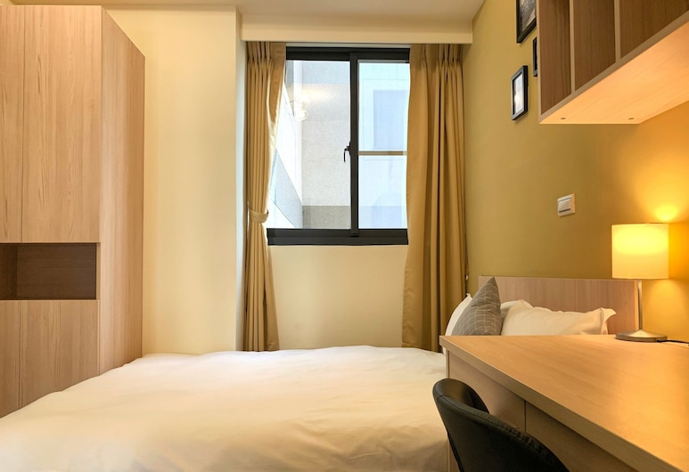 Adagio Hostel, Taichung, Comfort Double Room Single Use, Guest Room