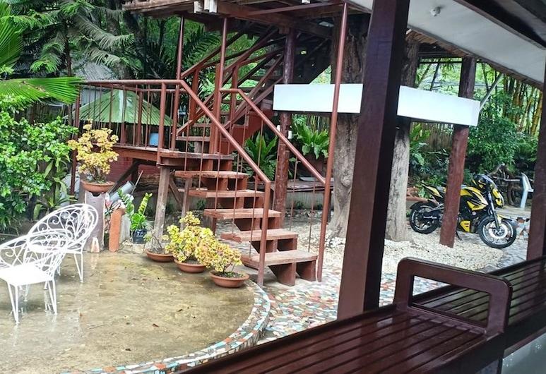 Elmundotel Guest House, Puerto Princesa, Puutarha