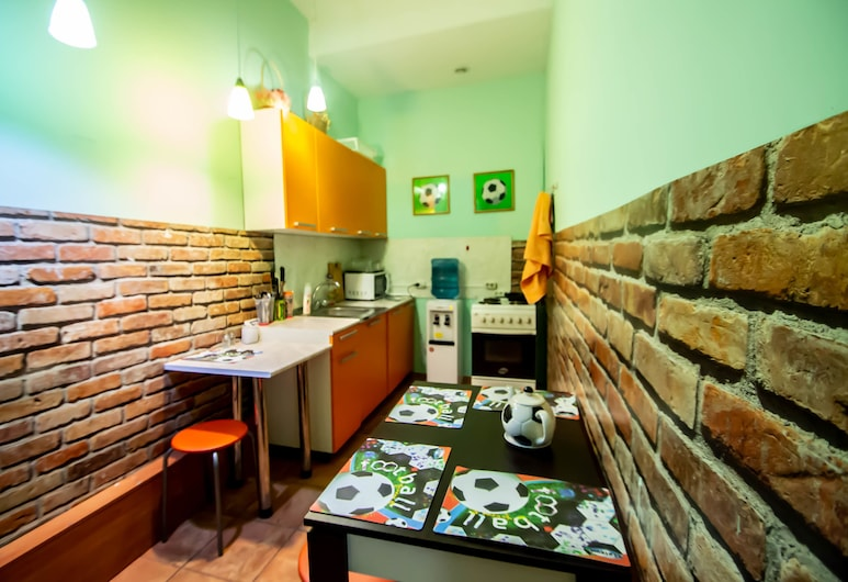 Hostel Champion, Nizhny Novgorod, Asrama Umum, asrama campuran (Bed in 10-bed Room), Dapur bersama