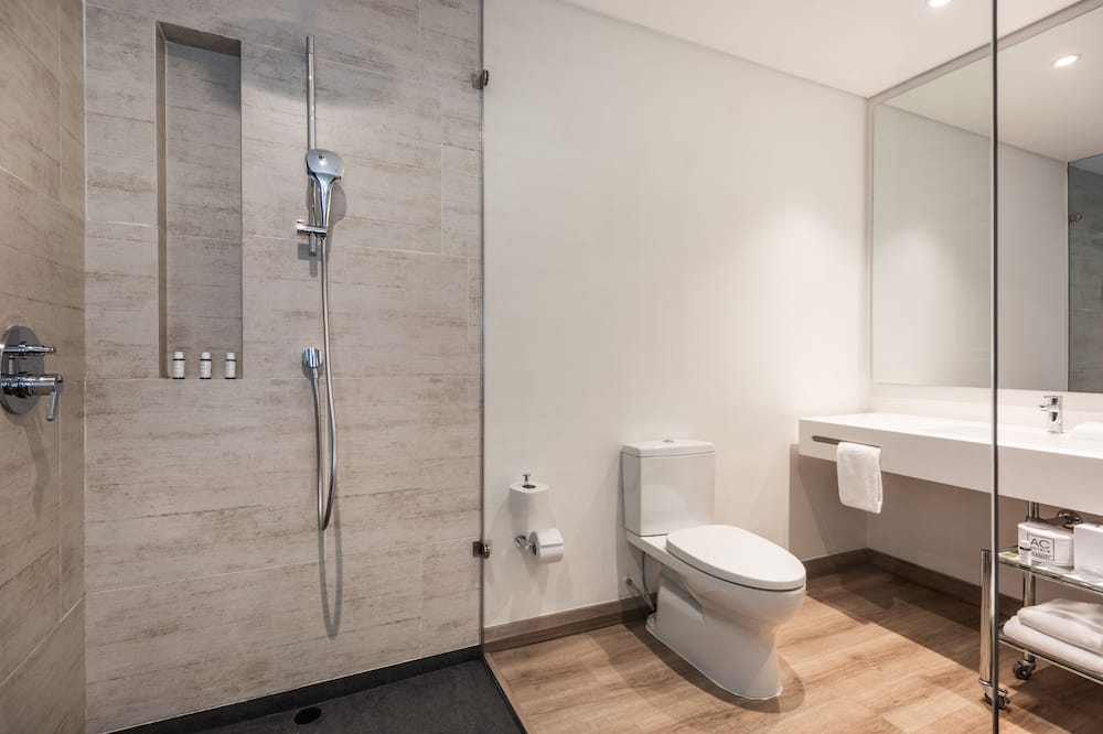 Liukso klasės kambarys, 2 standartinės dvigulės lovos, Nerūkantiesiems - Vonios kambarys