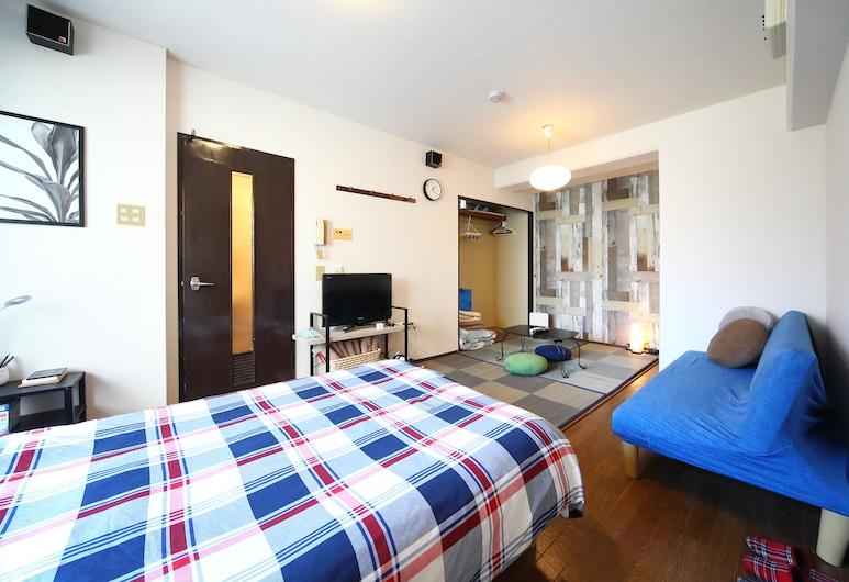 納尼瓦世界旅館, 大阪, 標準雙人房, 客廳