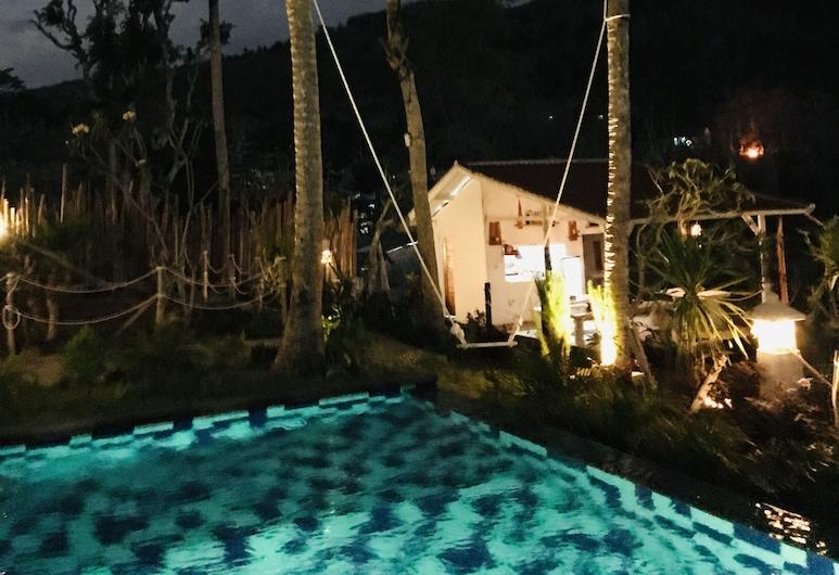 Bhavana Cottage, Penida Island, Aerial View