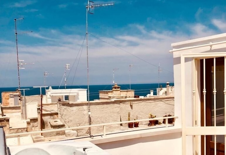 Itaca Home to Explorers, Polignano a Mare, Executive-lejlighed - 1 soveværelse, Terrasse/patio