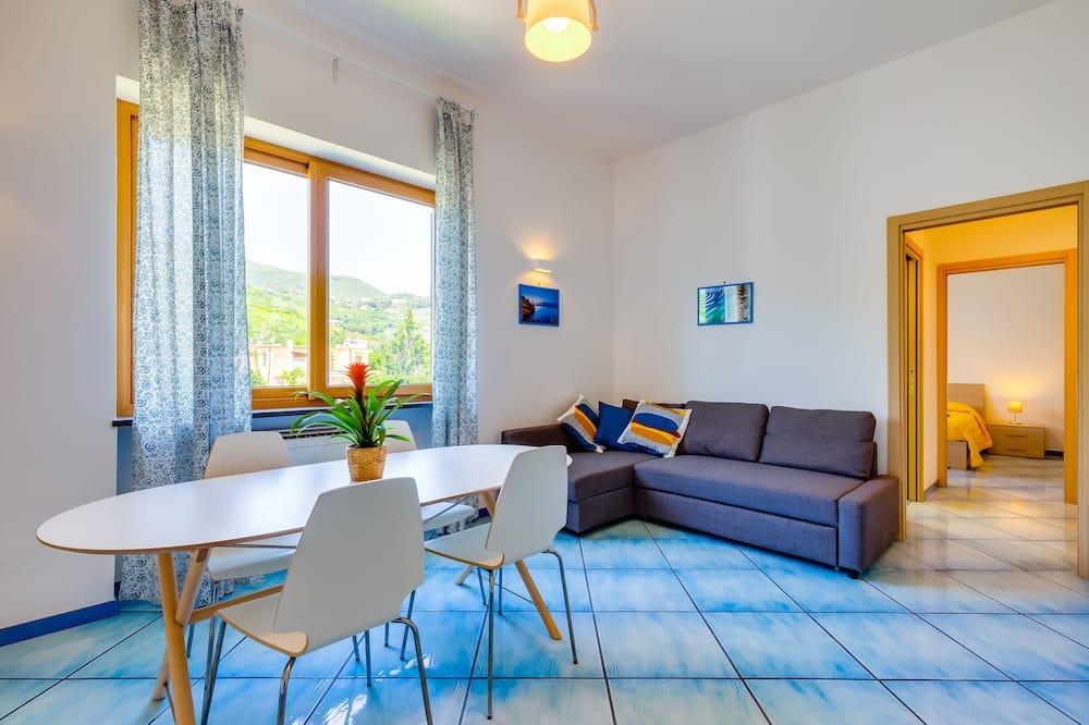 Appartamento Comfort, 1 camera da letto, angolo cottura - Area soggiorno