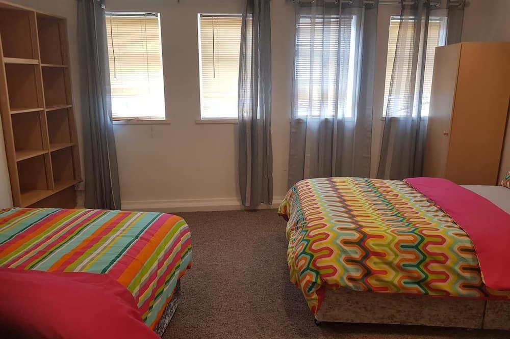 Apartmán typu Deluxe, súkromná kúpeľňa, výhľad na mesto (1ST FLOOR) - Izba