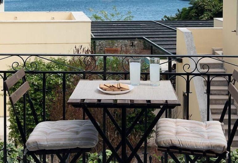 Villa Rita & Helena, Корфу, Апартаменты, 1 спальня, вид на море (Villa Elena), Вид из номера