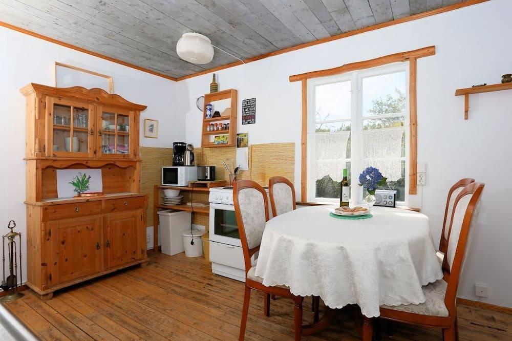 小屋 (Älghuset) - 客房內用餐