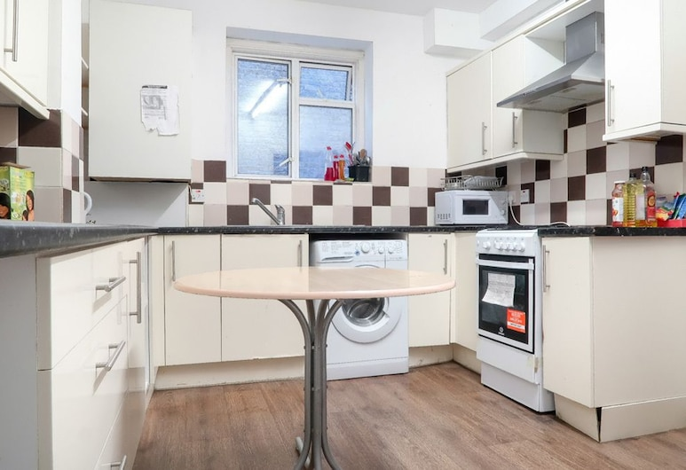 西德尼街酒店, 倫敦, 豪華雙人房 (Room 1), 共用廚房