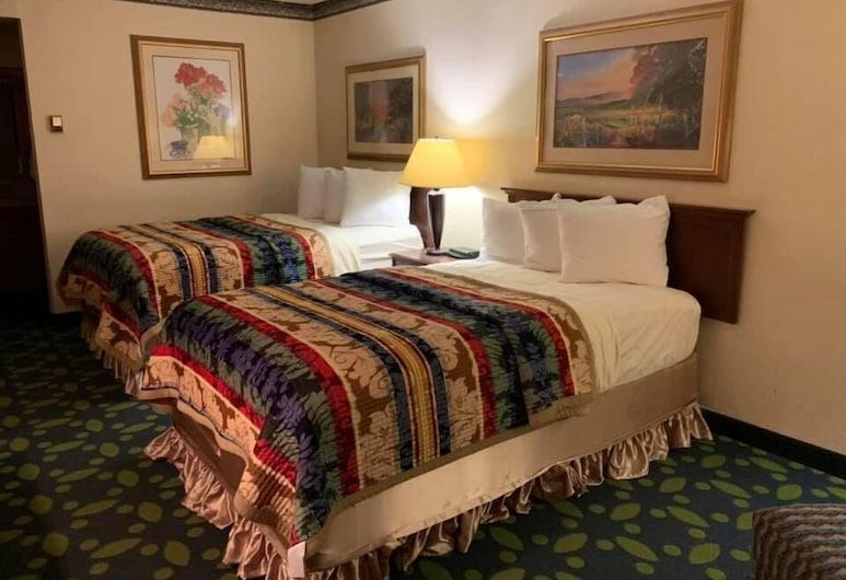 Haven Hotel, Jonesboro, Quarto Standard, 2 camas de casal, Quarto