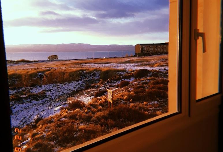 Tehuel Plaza, El Calafate, Pokoj Deluxe s dvojlůžkem, výhled na jezero, Výhled z pokoje