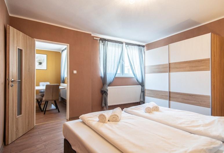 Wenceslas Square Apartment, Prag, Apart Daire, 1 Büyük (Queen) Boy Yatak (Stepanska 20 (Flat No 3 - Left)), Şehir Manzaralı