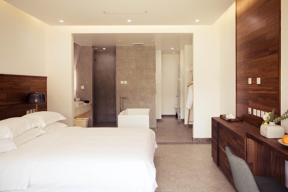 Dvojlôžková izba typu Classic, výhľad do dvora - Obývacie priestory
