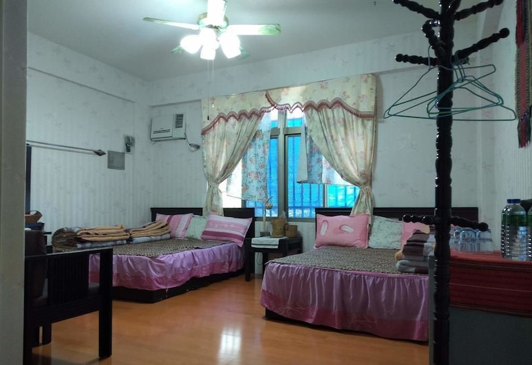 Dai Yi Shia B&B, Xiulin, חדר לארבעה, חדר אורחים