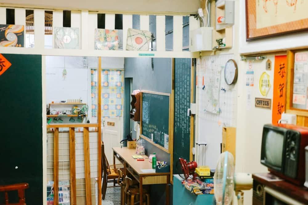 Családi szoba kétszemélyes vagy két külön ággyal (Japanese Style) - Nappali rész