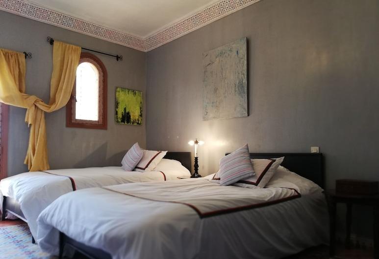 Villa du Souss Eco-Lodge, Темсія, Номер з 2 односпальними ліжками, Номер
