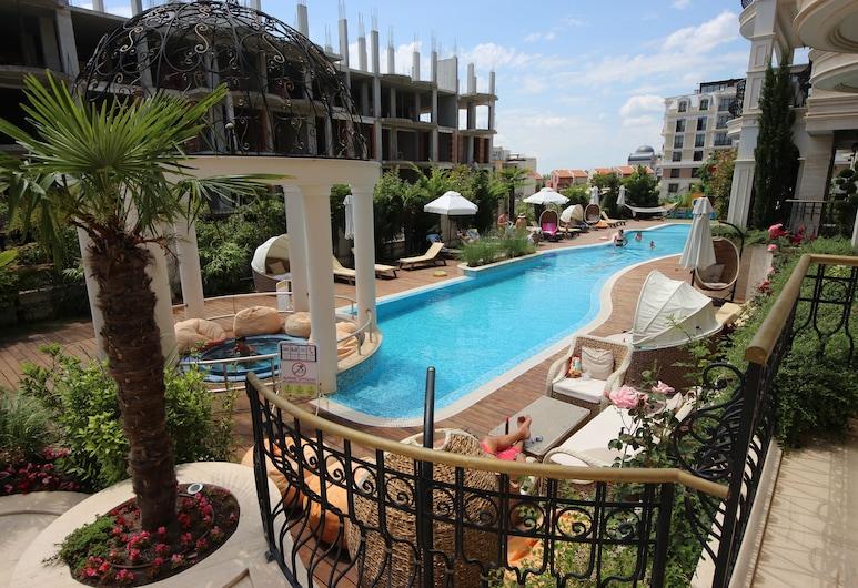 Menada Harmony Suites X Apartment, Sveti Vlas, Pool