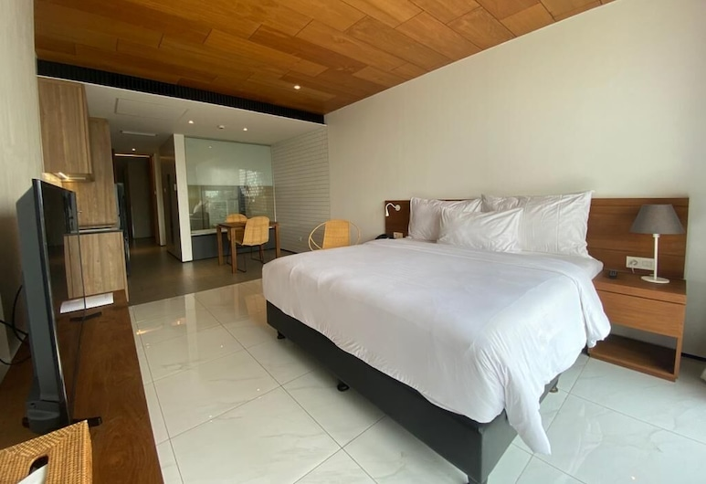 Nagomi Suites, Jakarta, Liukso klasės numeris, 1 labai didelė dvigulė lova, Kambarys