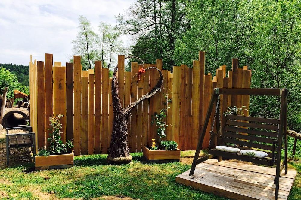 Dvivietis kambarys - Vaizdas į sodą