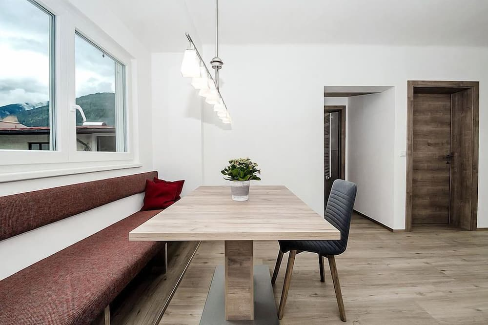 公寓, 2 間臥室 (Balcony or Terrace) - 客房內用餐
