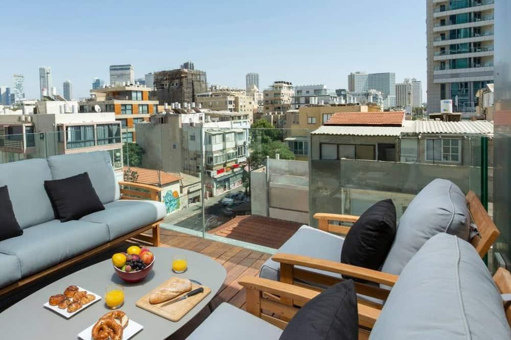 Classic apartman, 1 spavaća soba - Pogled s balkona