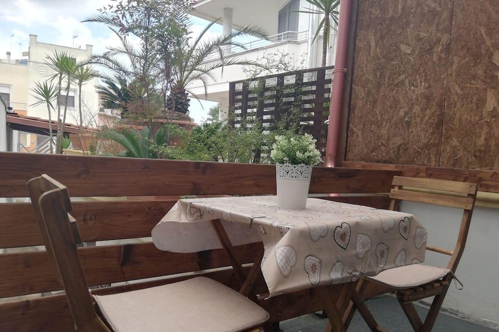 Comfort-huoneisto, 1 makuuhuone - Terassi/patio