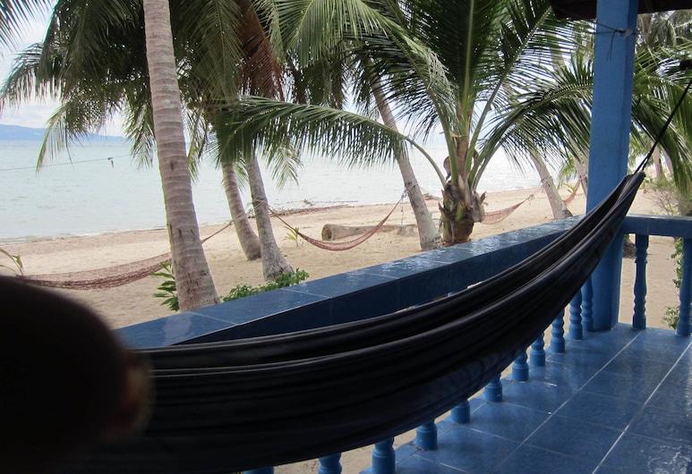 Bang Nam Kem, Ko Pha-ngan, בונגלו בייסיק, מרפסת