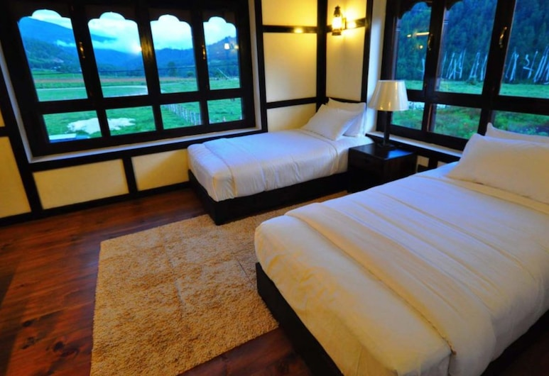 The Village Lodge Bumthang, Bumthang, Deluxe Twin Room, Guest Room