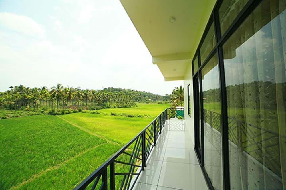 Deluxe-Zimmer - Blick vom Balkon