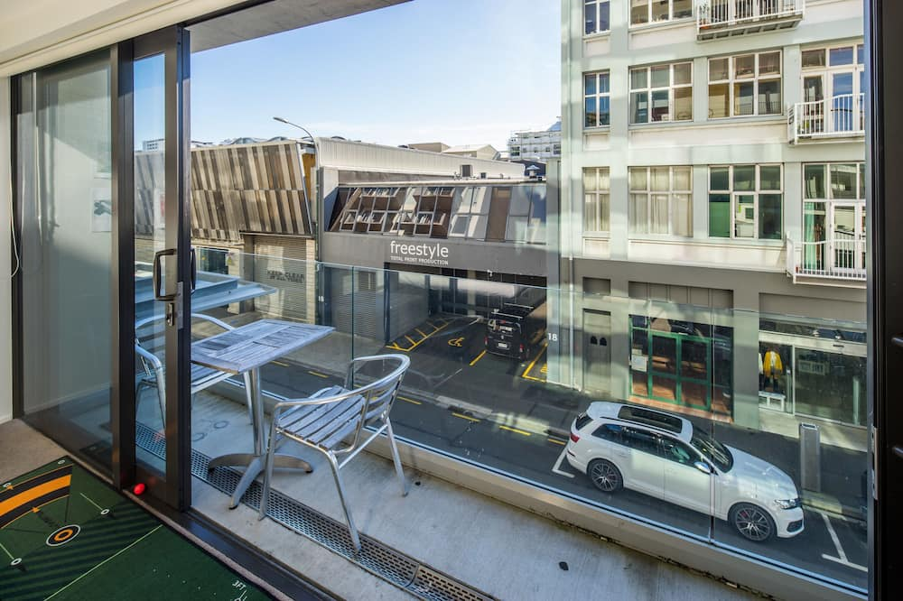 Private Unserviced Two Bedroom Apartment - Balcony