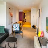 Private Unserviced Two Bedroom Apartment - Living Room