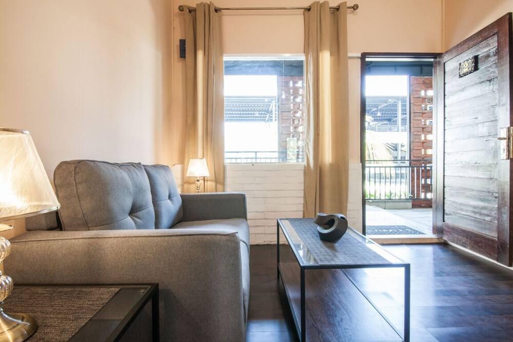 Suite básica - Sala de estar