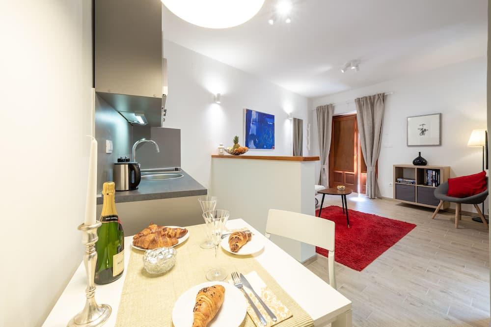 Apartamento, 1 quarto, Terraço - Sala de jantar (no quarto)