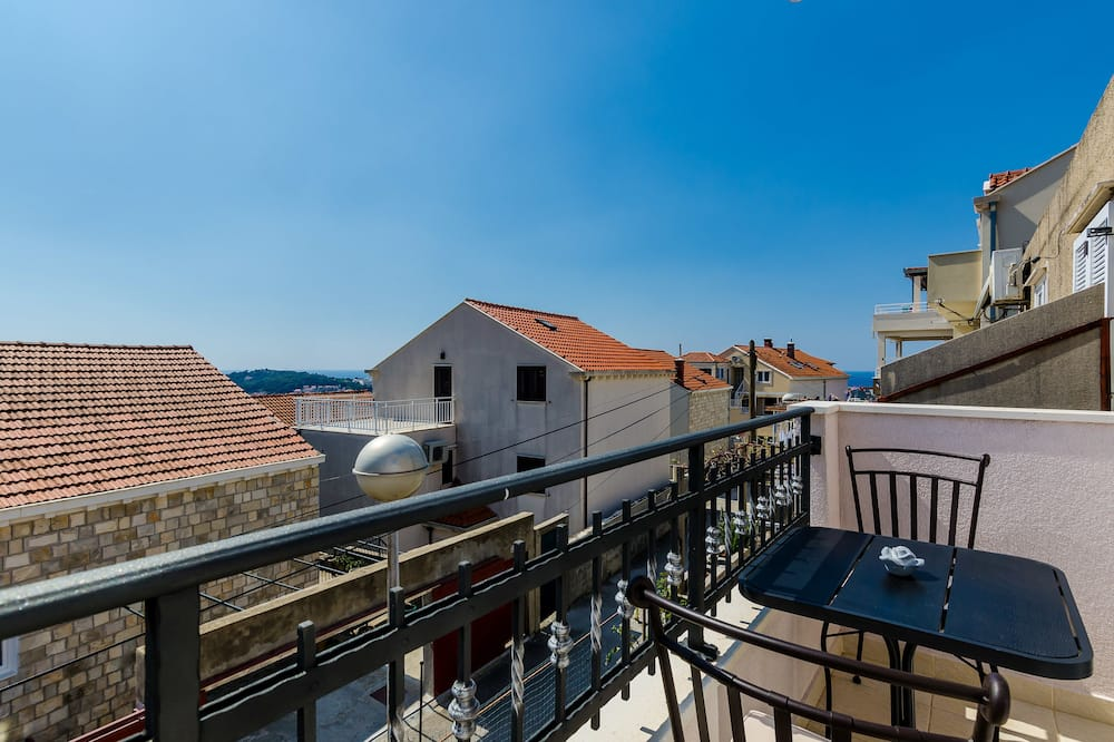 Apartmán, 2 spálne, balkón, výhľad na more - Balkón