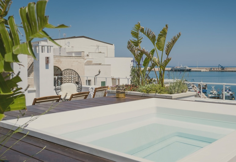 Al Console Luxury Suite, Monopoli, Piscina panoramica