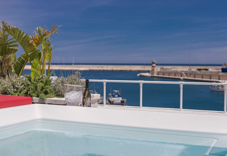 Al Console Luxury Suite, Monopoli, Terraza rooftop