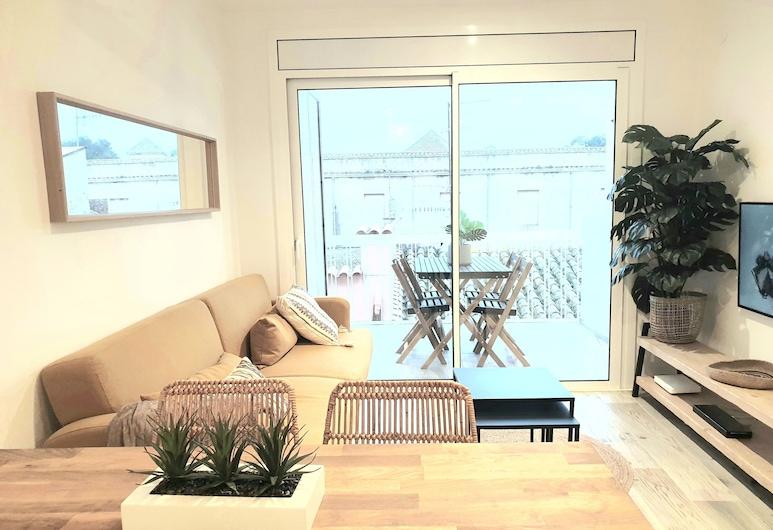 莫尼斯提爾公寓酒店, 聖費柳德吉克索爾斯, 公寓, 2 間臥室, 露台, 客廳
