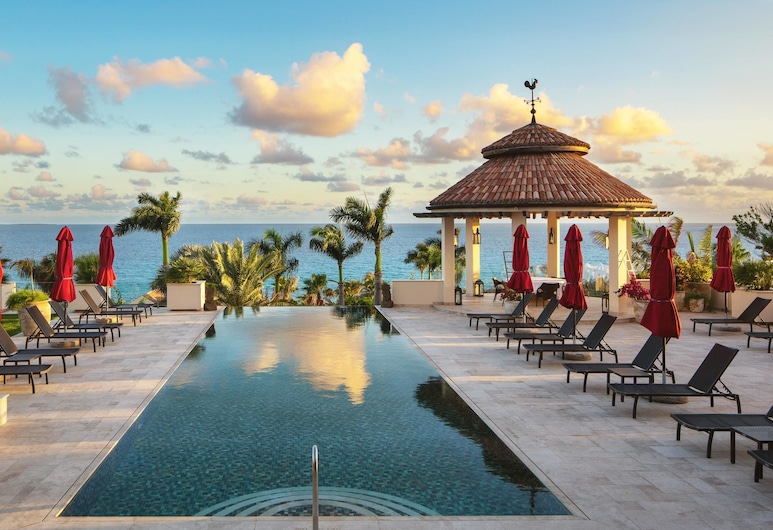Quintessence Hotel Anguilla, West End Village, Piscina con borde infinito