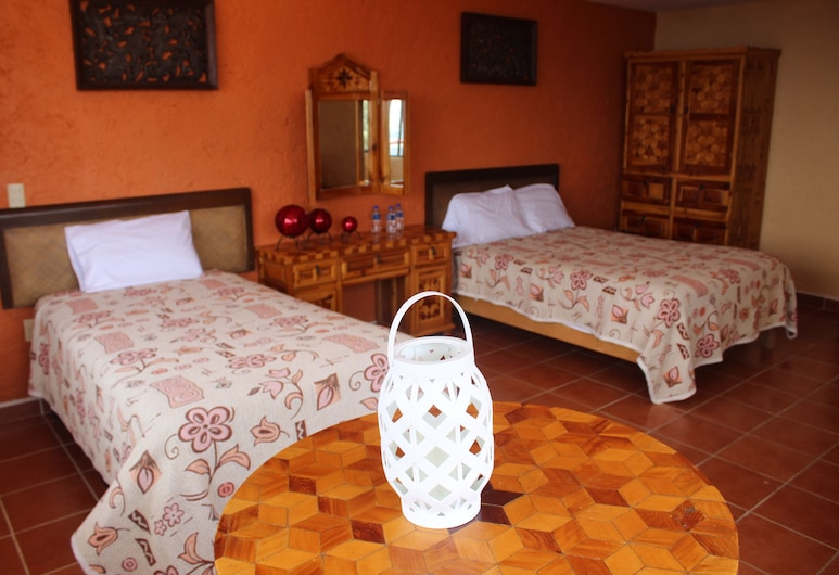 Finca Alfonso, Pachuca, Comfort Quadruple Room, Bilik Tamu