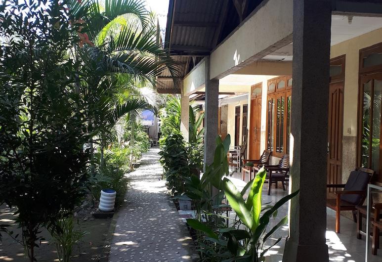 Sagita Bungalow, Gili Trawangan, Hotel homlokzata
