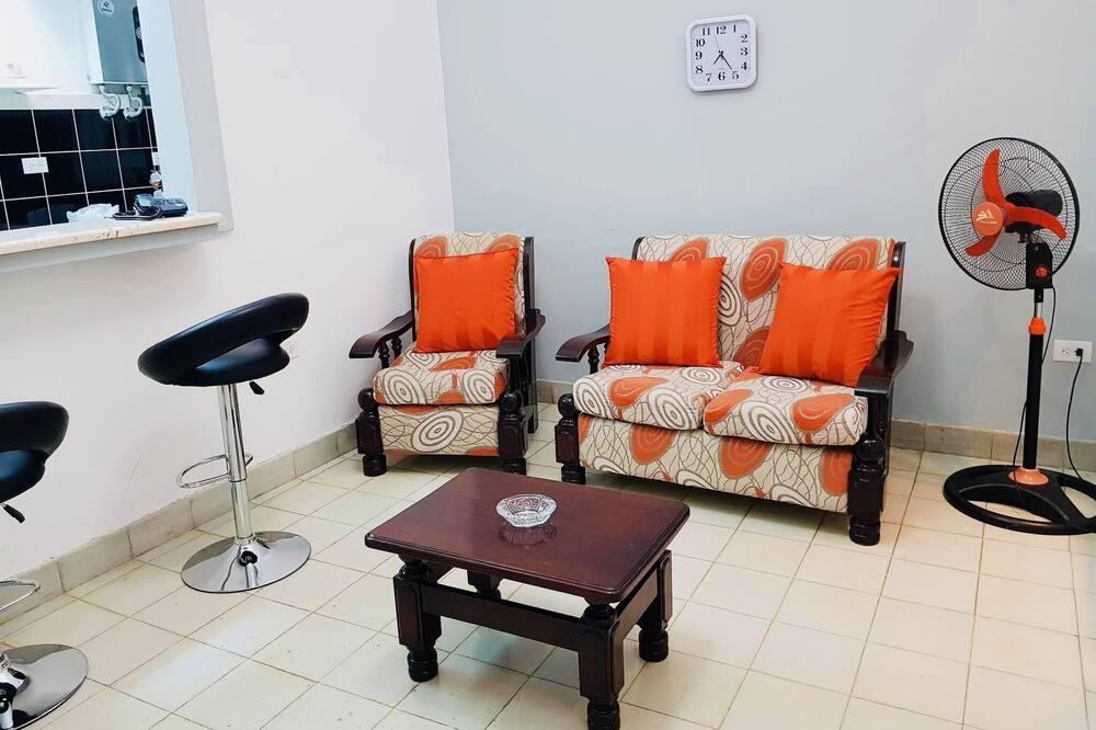 Apartmán typu Deluxe - Obývačka