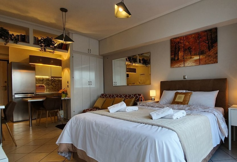 Cozy Luxury Apt - Heart of Athens 8-1 , Ateena, Studio, Huone