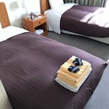 Kambarys (2 viengulės lovos) su pagrindiniais patogumais, Rūkantiesiems - Svečių kambarys