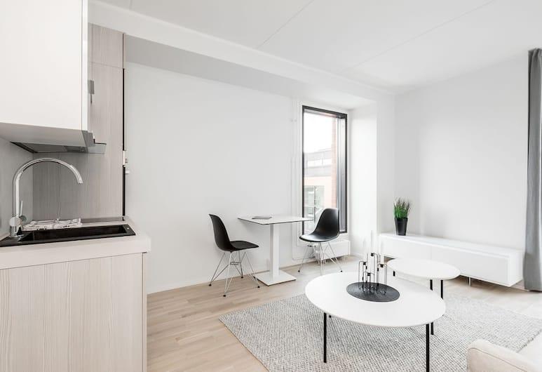 WeHost Tyrskyvuori 4, Espoo, Apartmán, Obývací pokoj