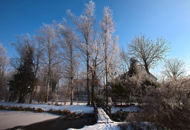 هوتل ألتر فيرت, هالبيرجموس, حديقة